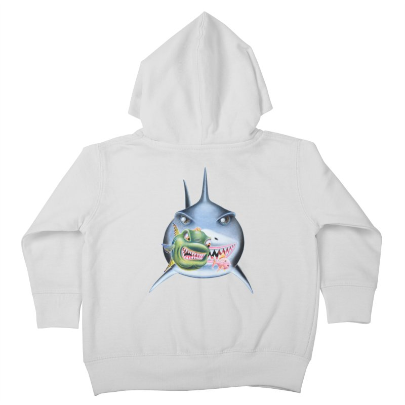 The Big & The Biggest Kids Toddler Zip-Up Hoody by RealZeal's Artist Shop