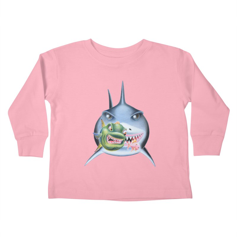 The Big & The Biggest Kids Toddler Longsleeve T-Shirt by realzeal's Artist Shop