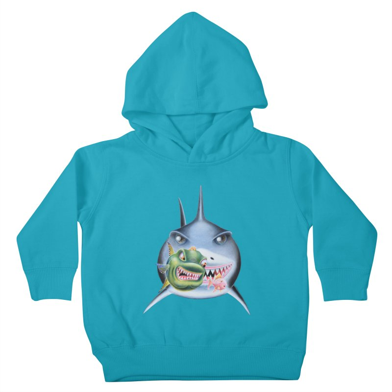 The Big & The Biggest Kids Toddler Pullover Hoody by RealZeal's Artist Shop