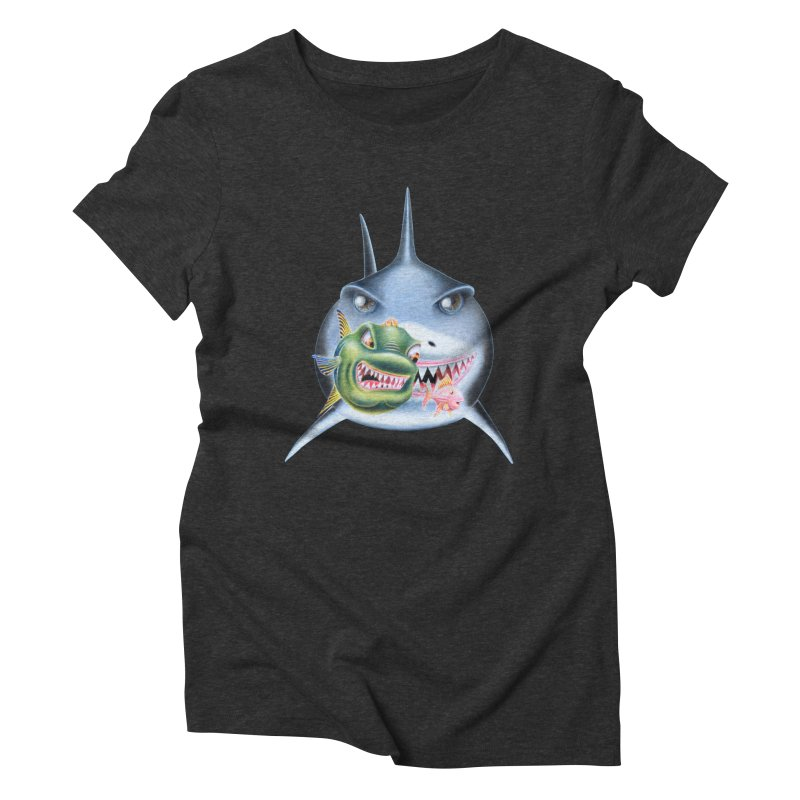 The Big & The Biggest Women's Triblend T-shirt by RealZeal's Artist Shop