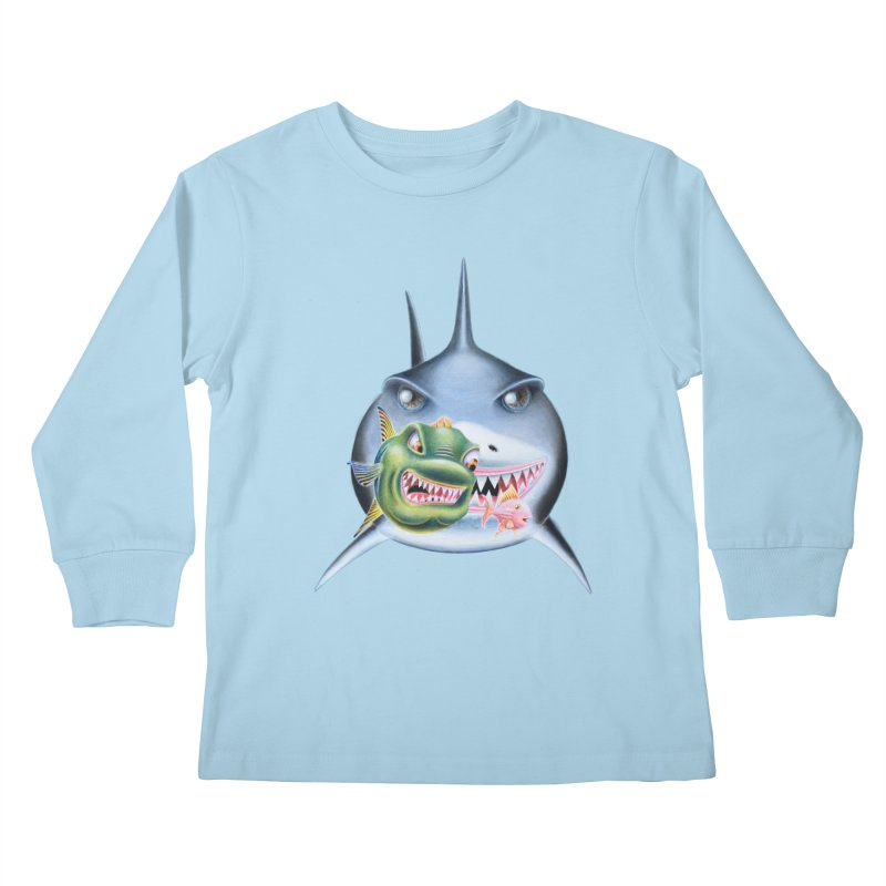 The Big & The Biggest Kids Longsleeve T-Shirt by RealZeal's Artist Shop