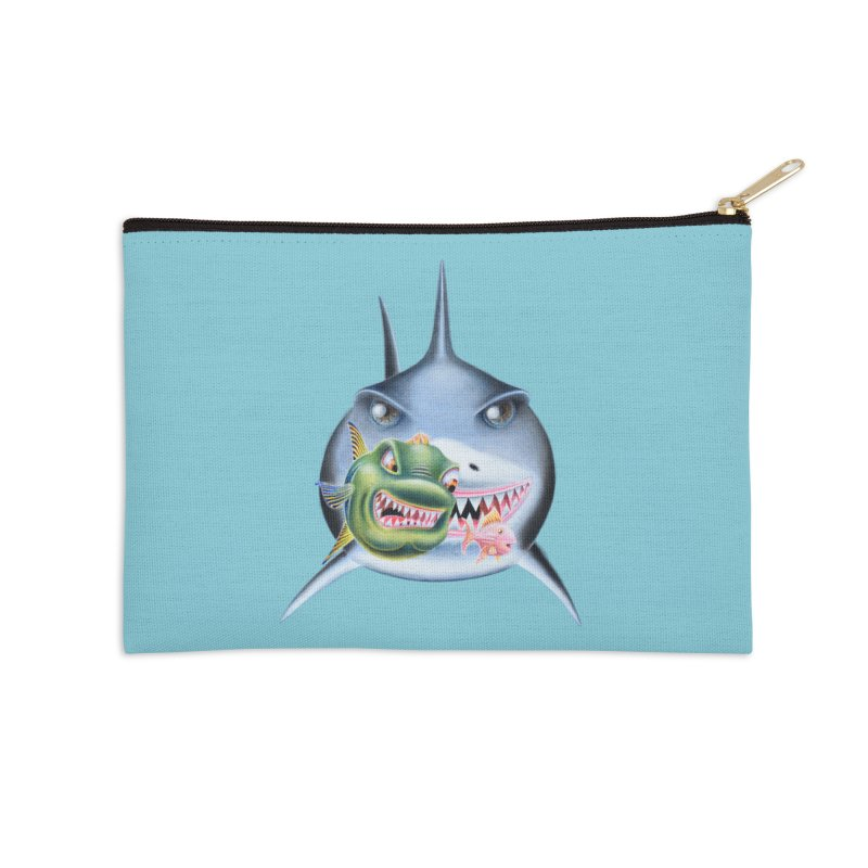 The Big & The Biggest Accessories Zip Pouch by RealZeal's Artist Shop