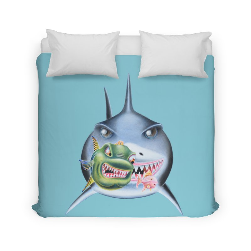 The Big & The Biggest Home Duvet by RealZeal's Artist Shop
