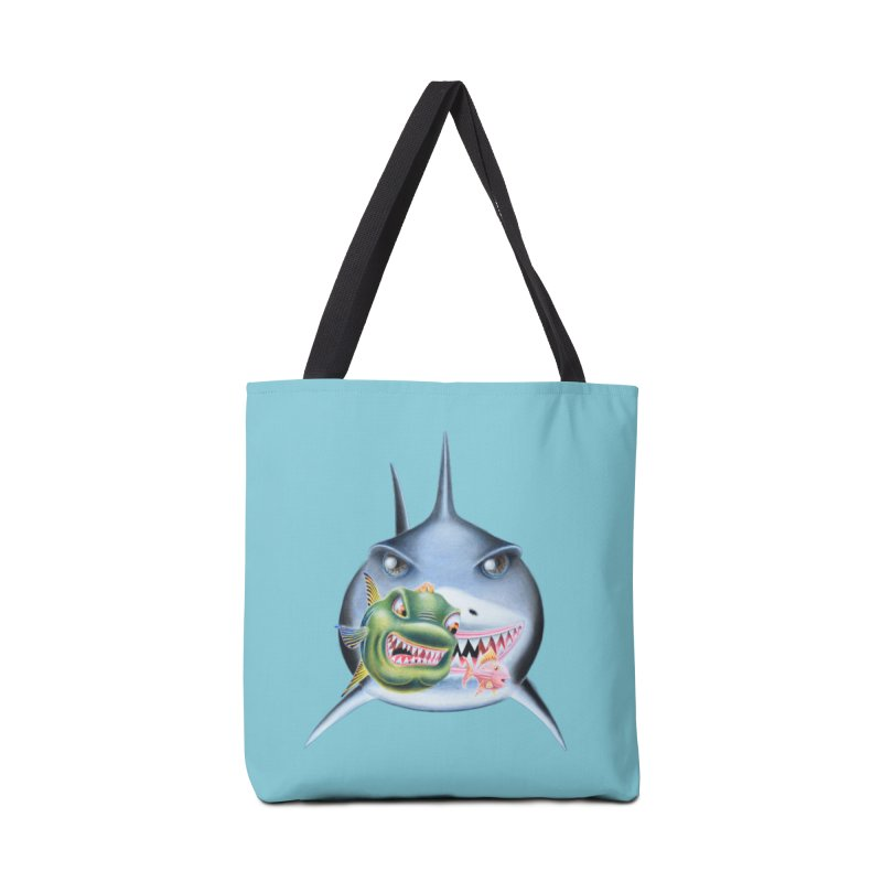 The Big & The Biggest Accessories Tote Bag Bag by RealZeal's Artist Shop
