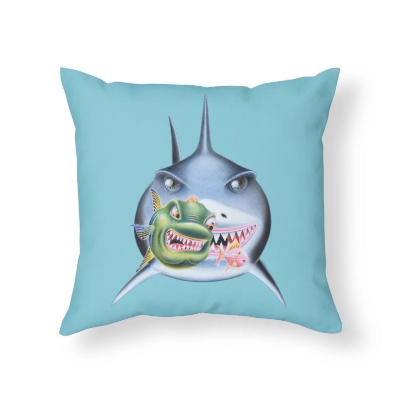 The Big & The Biggest Home Throw Pillow by RealZeal's Artist Shop