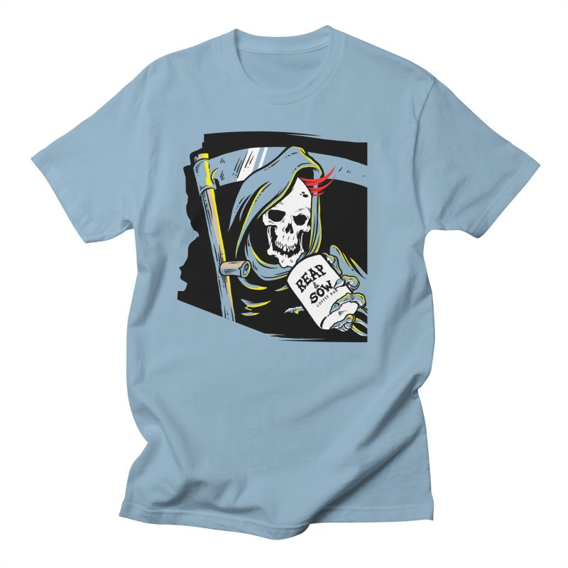 Reap & Sow Coffee Men's T-Shirt by reapsow's Artist Shop