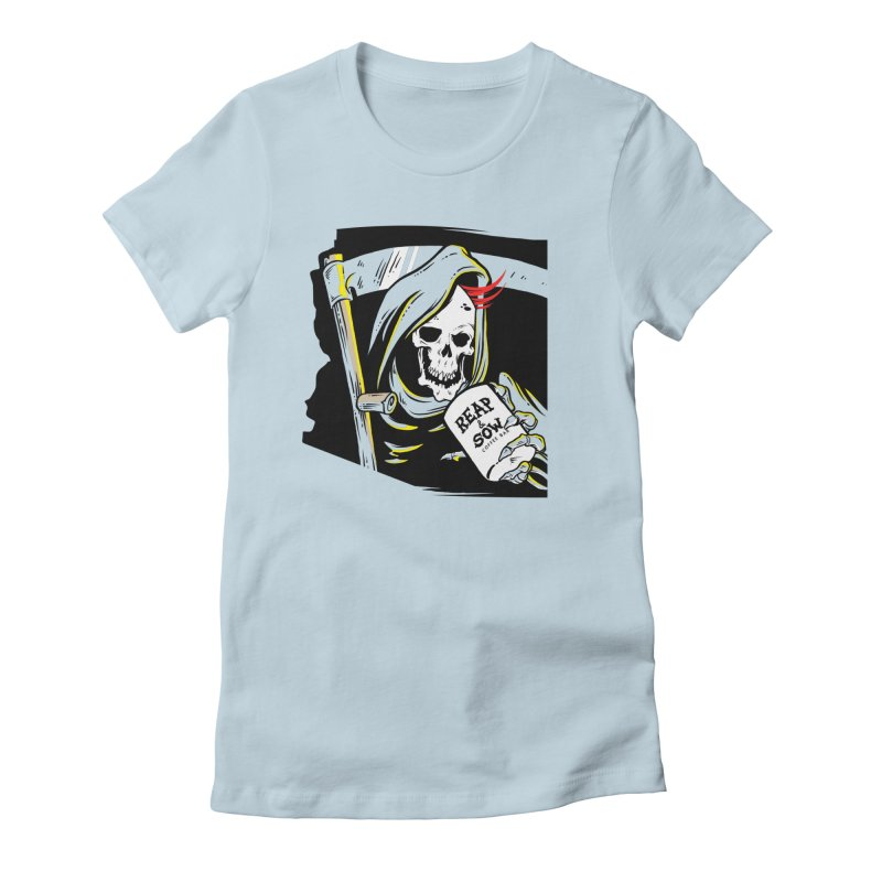Reap & Sow Coffee Women's T-Shirt by reapsow's Artist Shop