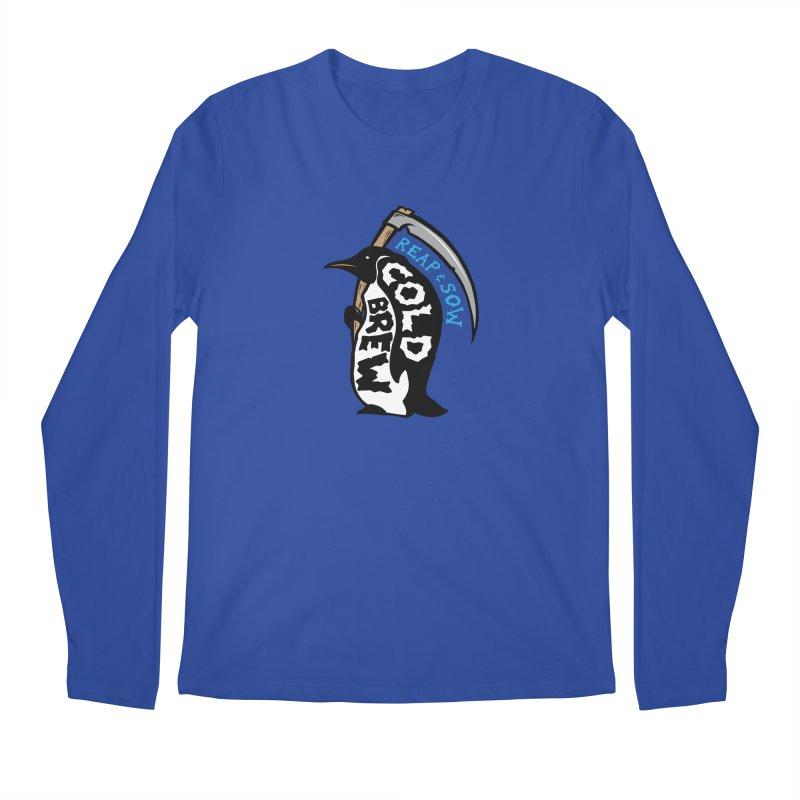 Reap & Sow Cold Brew Men's Longsleeve T-Shirt by reapsow's Artist Shop