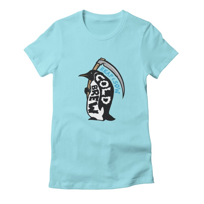 Reap & Sow Cold Brew Women's T-Shirt by reapsow's Artist Shop