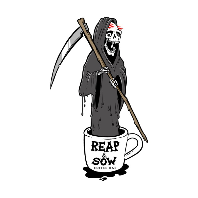 Death Before Decaf Women's T-Shirt by reapsow's Artist Shop