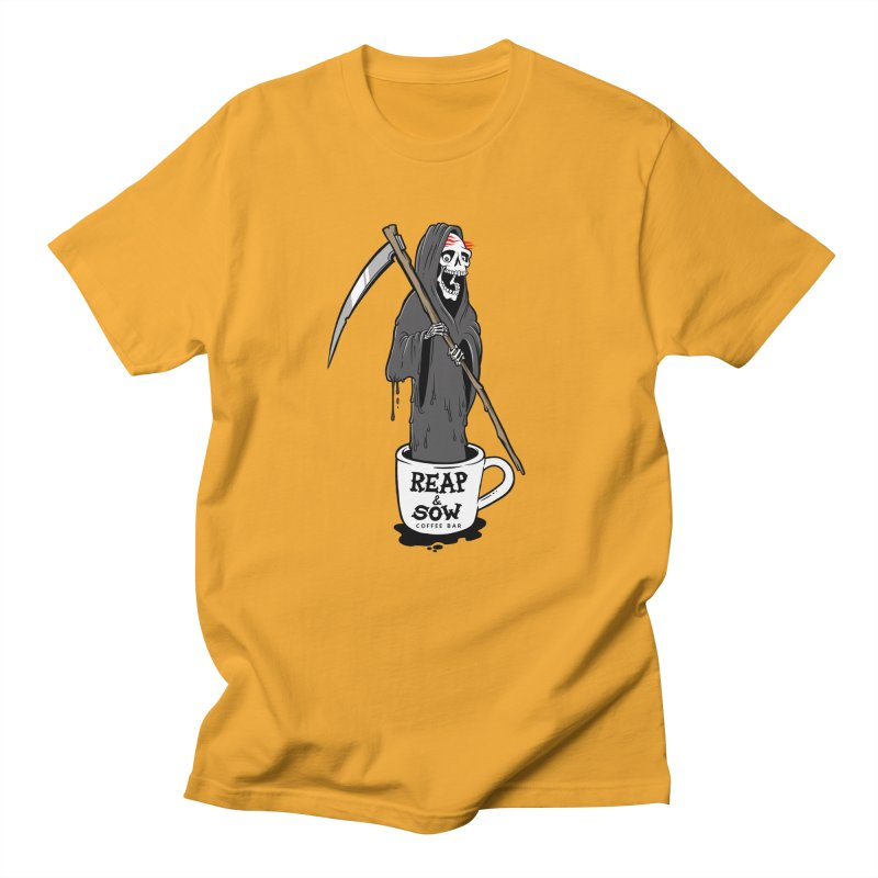 Death Before Decaf Men's T-Shirt by reapsow's Artist Shop