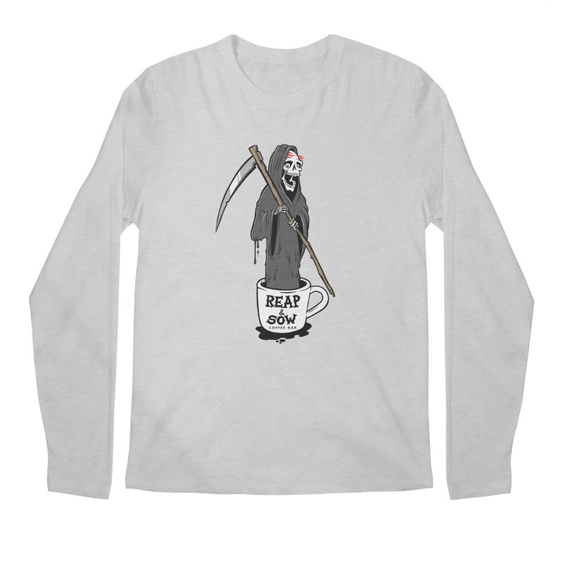 Death Before Decaf Men's Longsleeve T-Shirt by reapsow's Artist Shop