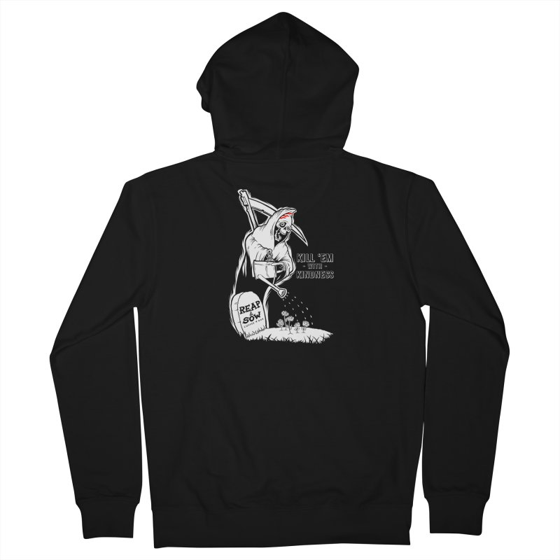 Kill 'Em With Kindness Men's Zip-Up Hoody by reapsow's Artist Shop