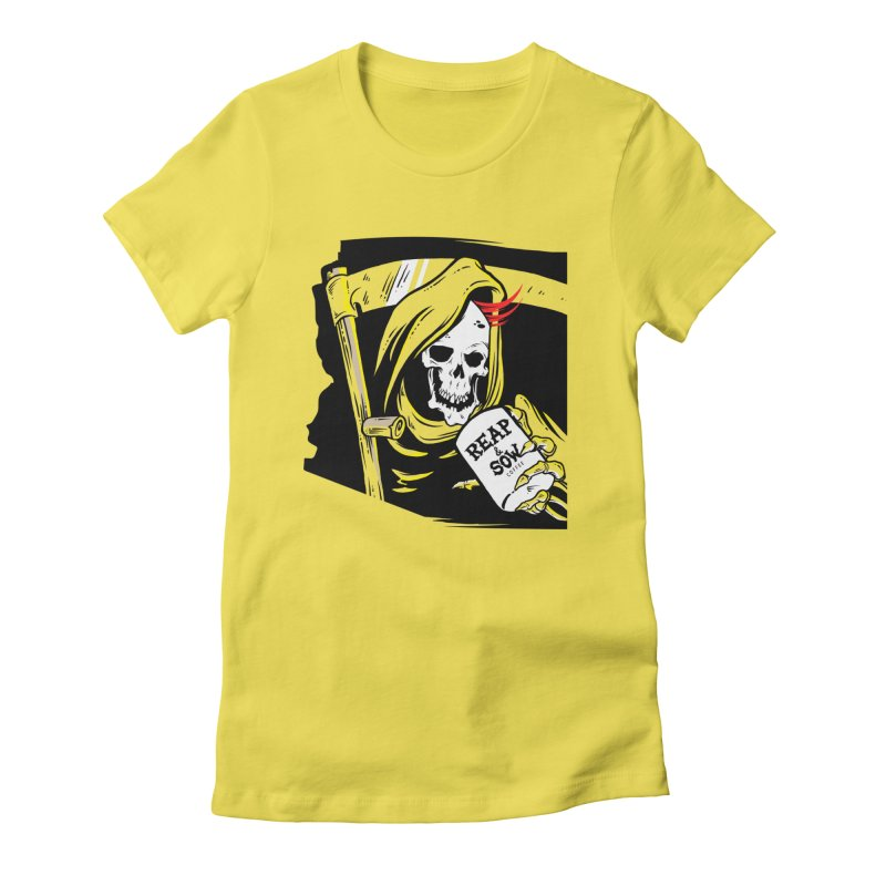 Reap & Sow Coffee Bar Women's T-Shirt by reapsow's Artist Shop