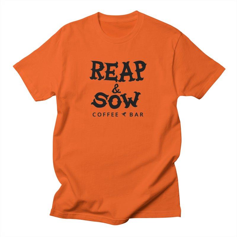 Reap & Sow Logo Men's T-Shirt by reapsow's Artist Shop