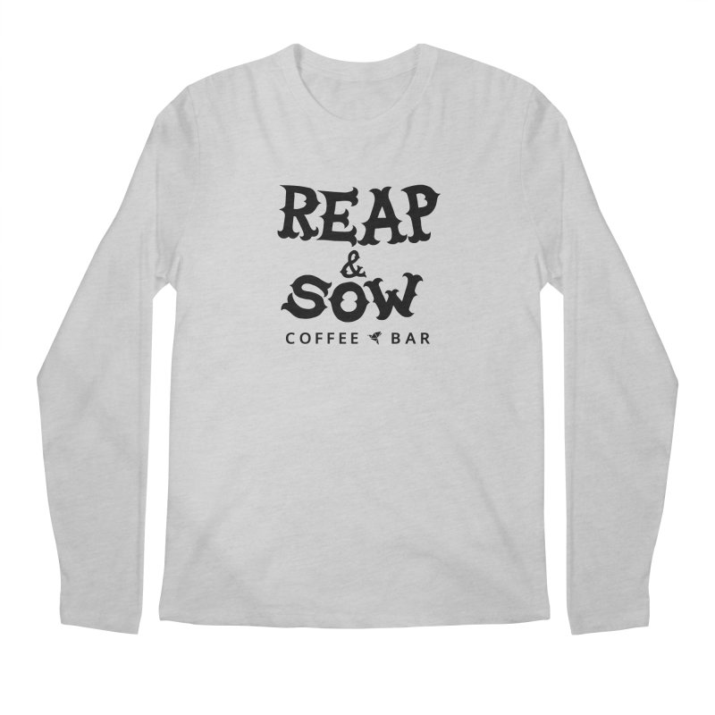 Reap & Sow Logo Men's Longsleeve T-Shirt by reapsow's Artist Shop