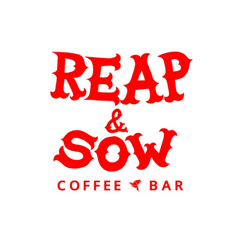 Reap & Sow Logo - Red Men's Longsleeve T-Shirt by reapsow's Artist Shop