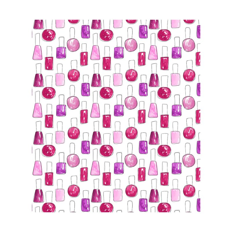 Nail Polish | Pink Men's Socks by Rebecca Flaherty's Artist Shop