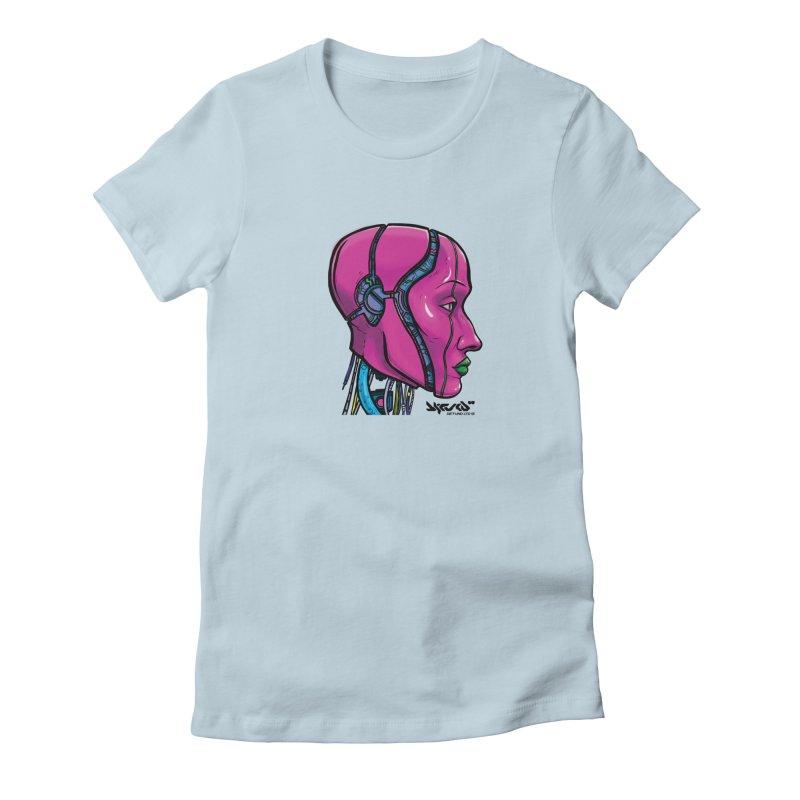 Synthetic World Women's T-Shirt by R E B E C C A  G O L D B E R G