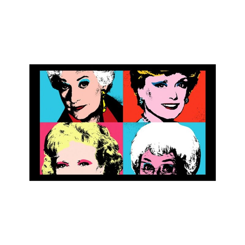 Warhol Golden Girls Accessories Face Mask by R E B E C C A  G O L D B E R G