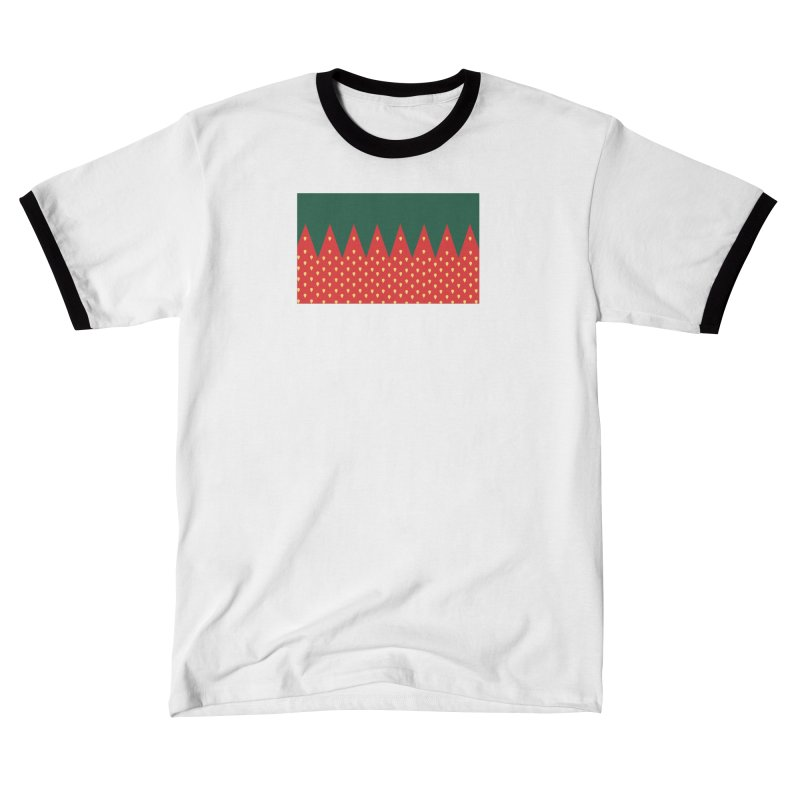Strawberry Candy Women's T-Shirt by R E B E C C A  G O L D B E R G