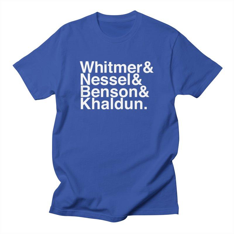 Women of Michigan. Men's T-Shirt by R E B E C C A  G O L D B E R G