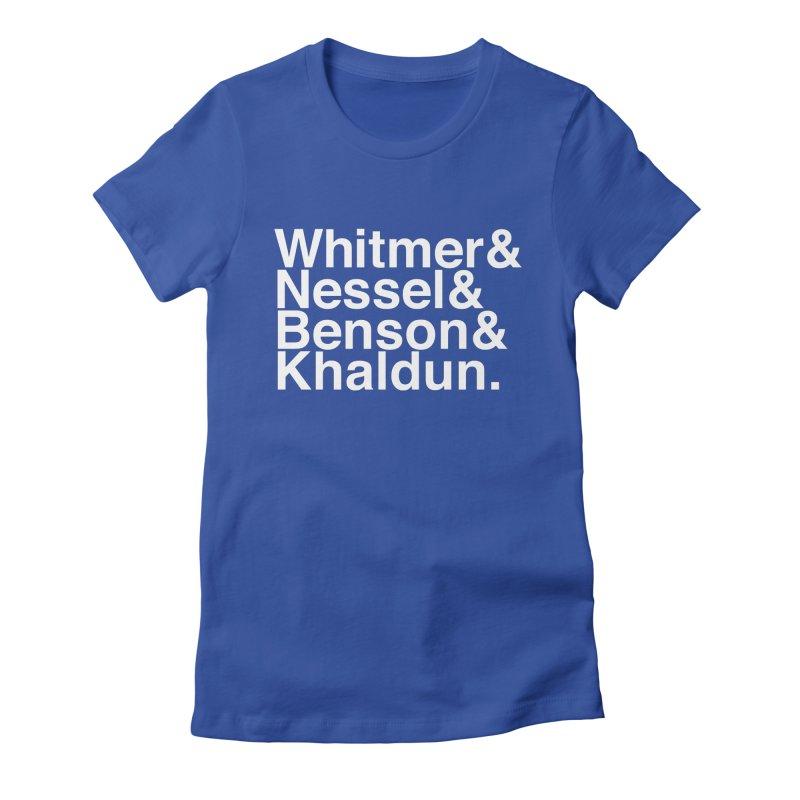 Women of Michigan. Women's T-Shirt by R E B E C C A  G O L D B E R G