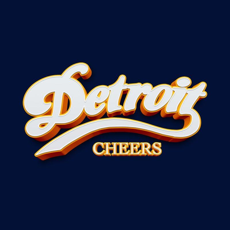 Detroit Cheers Accessories Bag by R E B E C C A  G O L D B E R G