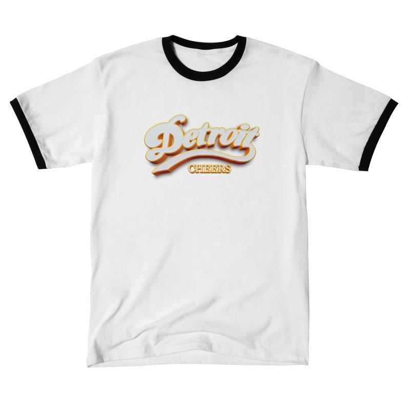 Detroit Cheers Women's T-Shirt by R E B E C C A  G O L D B E R G