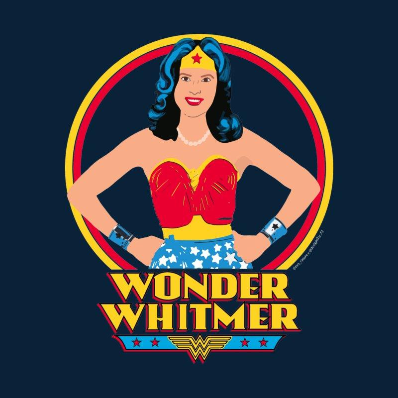 Wonder Whitmer Accessories Face Mask by R E B E C C A  G O L D B E R G