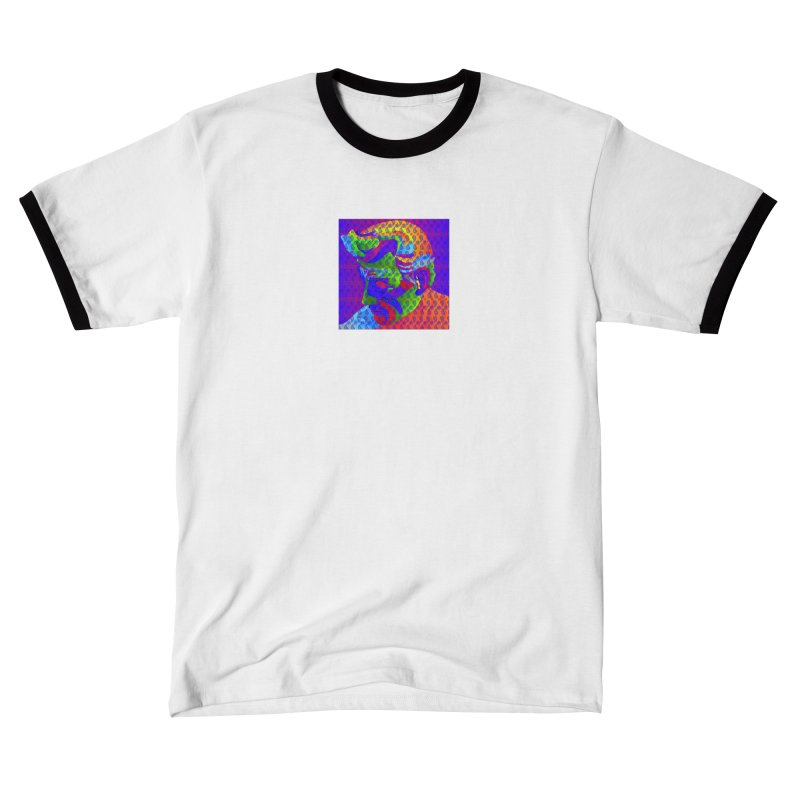Spirit of Detroit Women's T-Shirt by R E B E C C A  G O L D B E R G