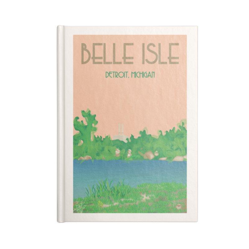 Belle Isle Accessories Notebook by R E B E C C A  G O L D B E R G