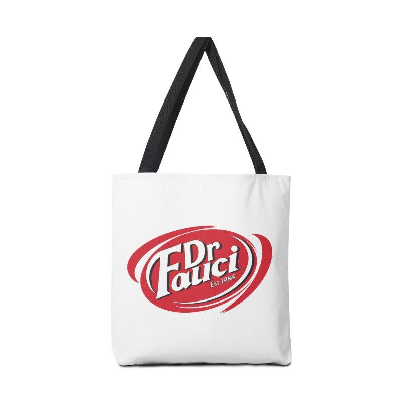 Dr. Fauci Accessories Bag by R E B E C C A  G O L D B E R G