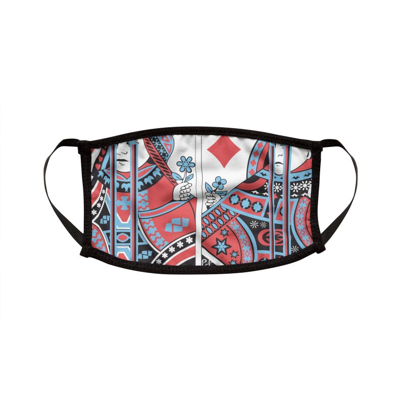 313 ACID QUEEN Accessories Face Mask by R E B E C C A  G O L D B E R G