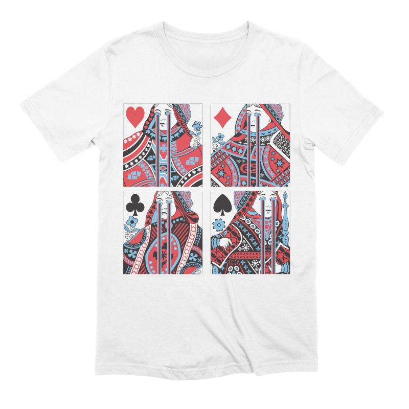 313 ACID QUEEN Men's Extra Soft T-Shirt by R E B E C C A  G O L D B E R G