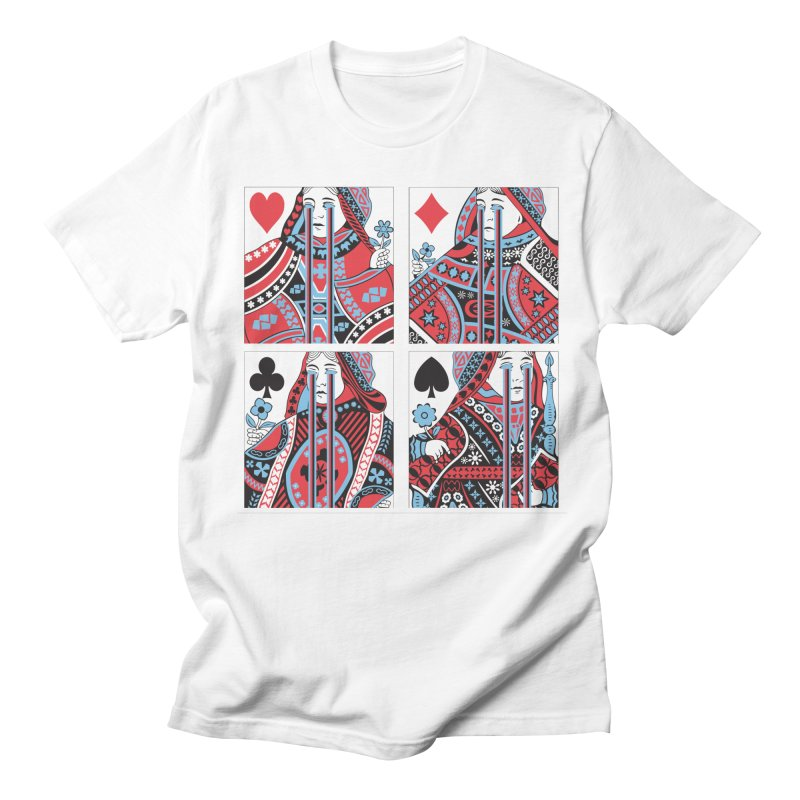313 ACID QUEEN Women's Regular Unisex T-Shirt by R E B E C C A  G O L D B E R G