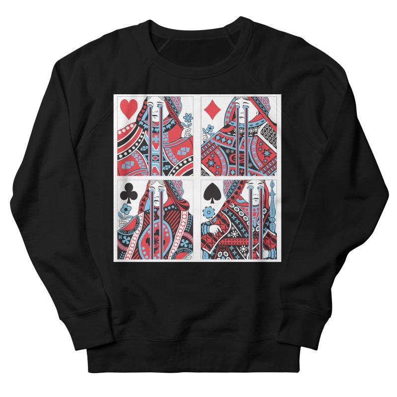313 ACID QUEEN Women's French Terry Sweatshirt by R E B E C C A  G O L D B E R G