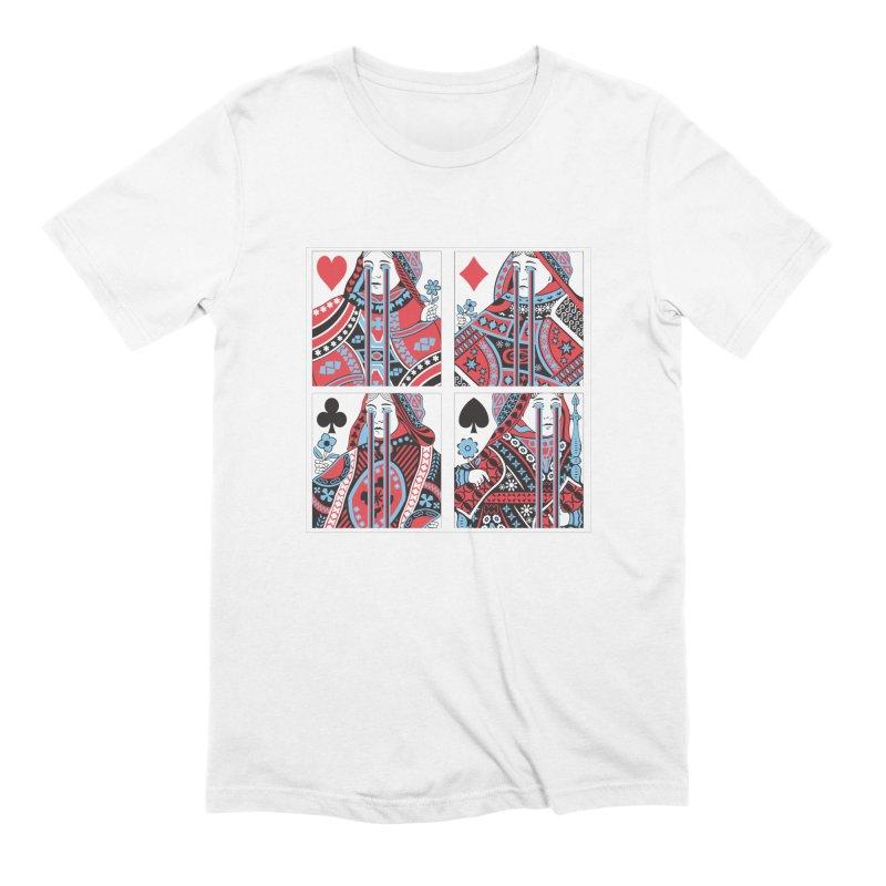 313 ACID QUEEN Men's T-Shirt by R E B E C C A  G O L D B E R G