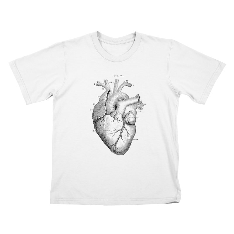 ACTIVITY OF SOUND Kids T-Shirt by R E B E C C A  G O L D B E R G