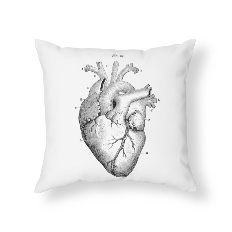 ACTIVITY OF SOUND Home Throw Pillow by R E B E C C A  G O L D B E R G