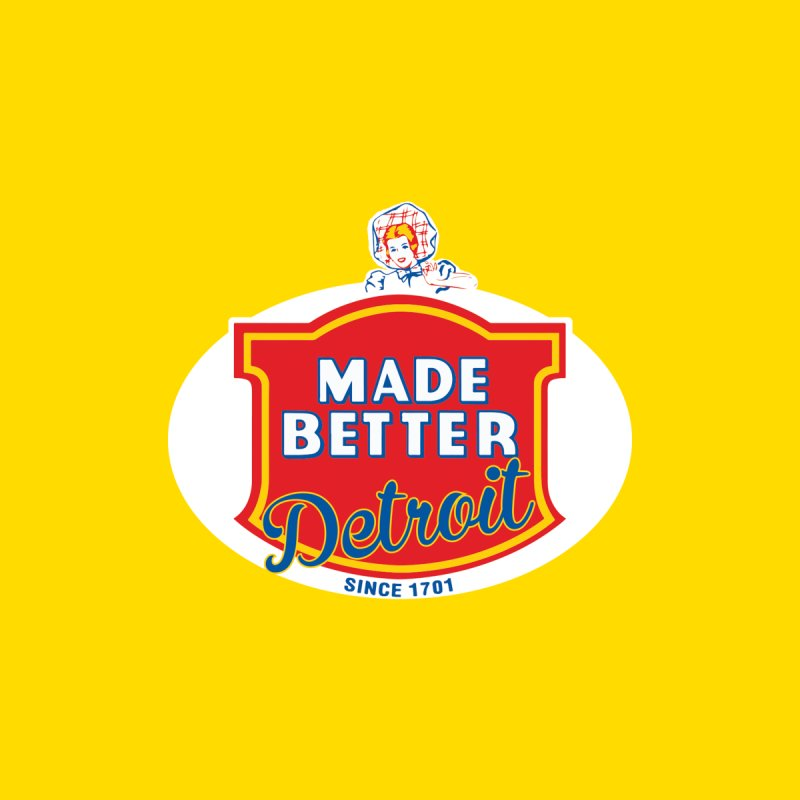 MADE BETTER Detroit Accessories Sticker by R E B E C C A  G O L D B E R G