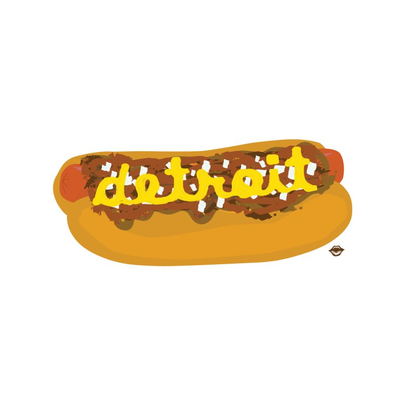 Detroit Coney Dog by R E B E C C A  G O L D B E R G