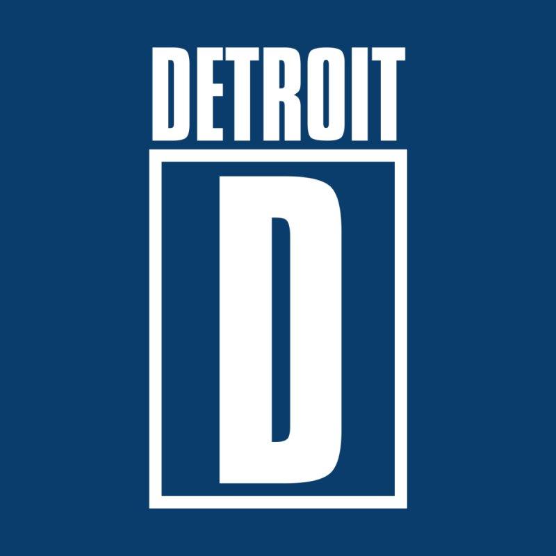 Detroithead Men's T-Shirt by R E B E C C A  G O L D B E R G