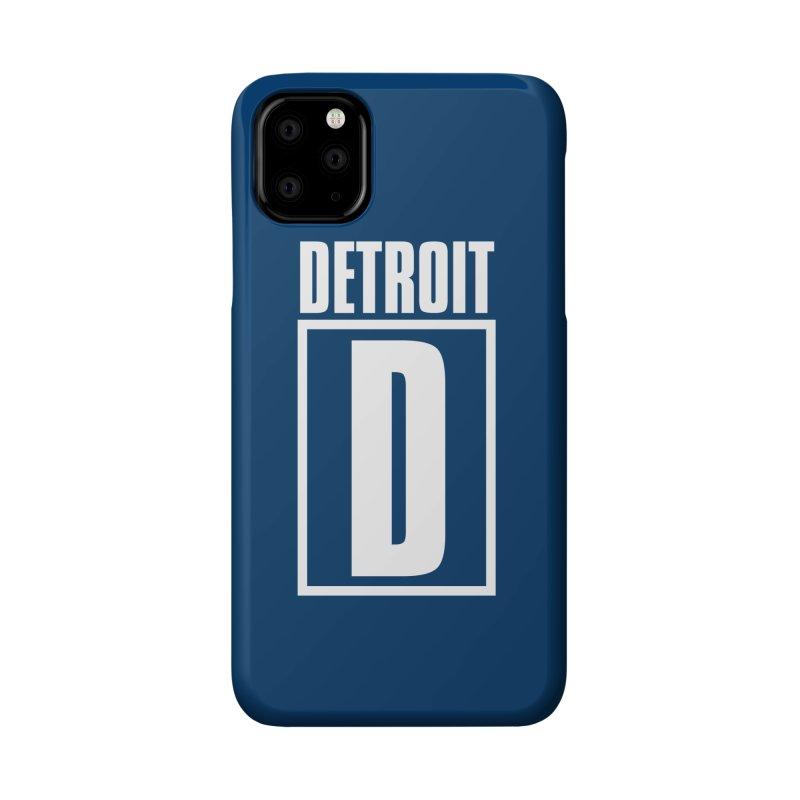 Detroithead Accessories Phone Case by R E B E C C A  G O L D B E R G