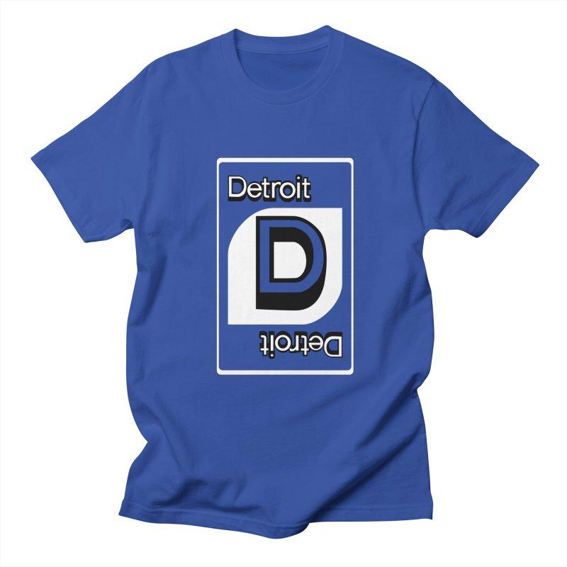 Detroit Uno Women's Regular Unisex T-Shirt by R E B E C C A  G O L D B E R G