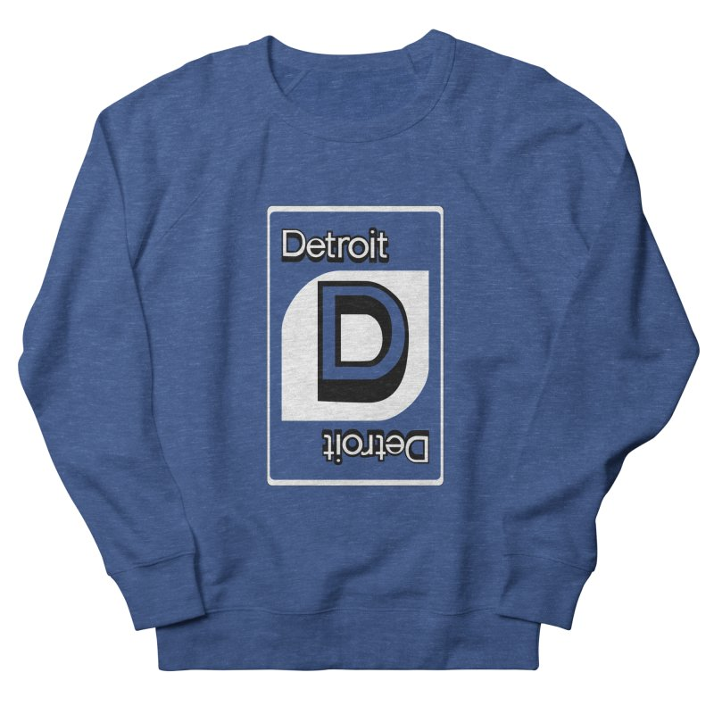 Detroit Uno Men's French Terry Sweatshirt by R E B E C C A  G O L D B E R G
