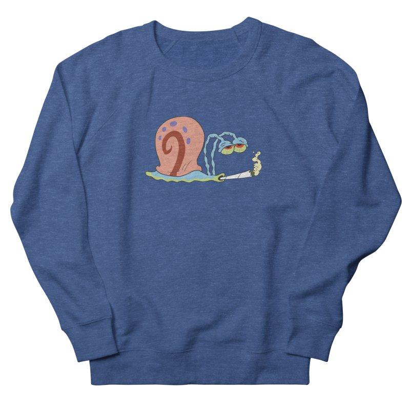 Stoner Gary - Spongebob Squarepants Men's French Terry Sweatshirt by R E B E C C A  G O L D B E R G