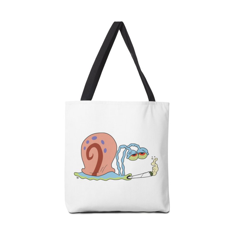 Stoner Gary - Spongebob Squarepants Accessories Bag by R E B E C C A  G O L D B E R G