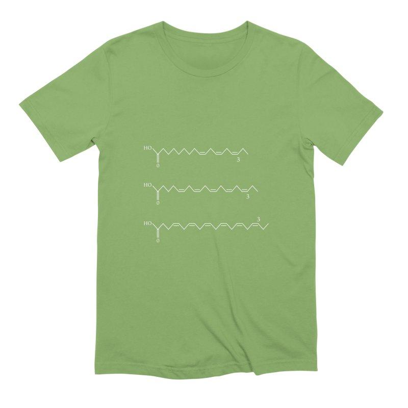 ω−3 fatty acids Men's Extra Soft T-Shirt by R E B E C C A  G O L D B E R G