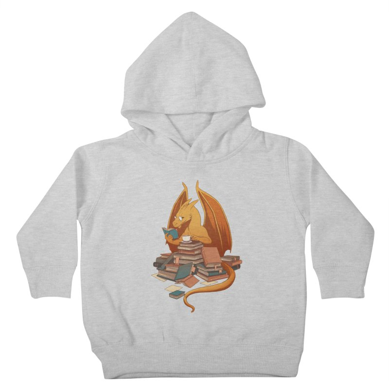 Book Wyrm Horde Kids Toddler Pullover Hoody by rebekie.b's artist shop